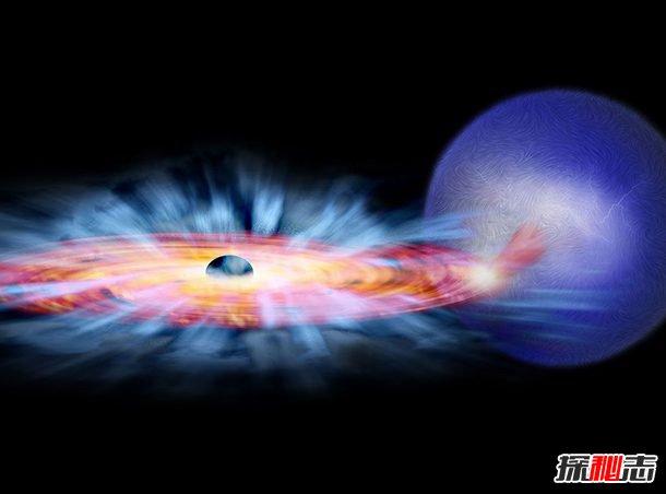 宇宙黑洞里面是什么图片