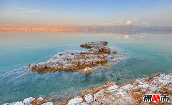 世界上最咸的湖:一般海水盐度的12倍(少雪不结冰)