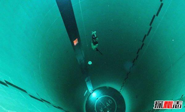 世界上最深的游泳池:堪称无底洞(深度达40米)