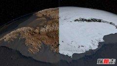 世界上最冷的沙漠:南极洲沙漠98%被冰雪覆盖