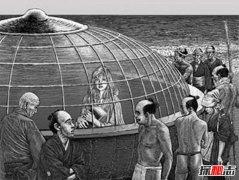 日本虚舟事件揭秘:是UFO还是神明的承载物(神秘女子)