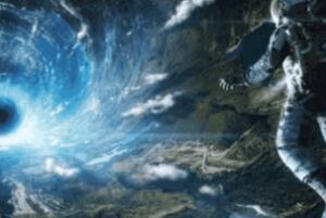二名宇航员被吸入黑洞是真的吗,纯属谣言(人靠近黑洞就粉碎了)