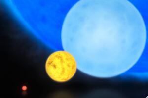蓝矮星是怎么形成的,原恒星核聚变成矮星(光谱OBA为蓝矮星)
