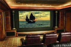 世界上最小的电影院 仅有九个座位环境优雅相当特别