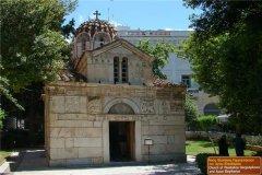 世界上最小的教堂 阿基欧斯·埃莱夫塞里奥斯教堂