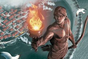 罗德岛太阳神巨像之谜,矗立56年后倒塌残骸被变卖