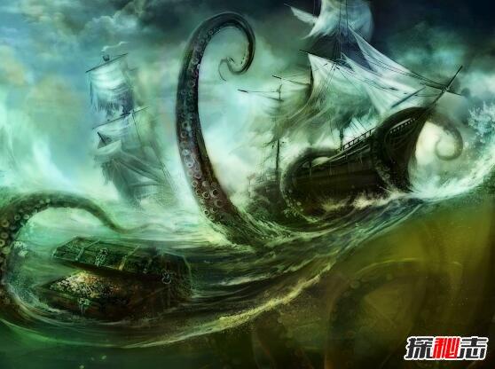 在大航海时代,船员对挪威海怪无不是闻之色变,说见过他的人没有人能活着出来。有人说挪威海怪真正的破坏力并不是它的血盆大口,而是它扭动着100多米长的身体在海中掀起巨浪将船打翻。大航海时代人们画的挪威海怪,应该也是想象中的。没有人真正见过挪威海怪,或者见过的人早已葬身海底了。  在有些人的想象中,挪威海怪既然是海怪那么一定不同凡响,所以应该有很多头,而且个个面目狰狞,让人胆寒。18世纪有人根据想象画出的挪威海怪。从图中可以看出挪威海怪似乎有很多触手,好像一个大章鱼。