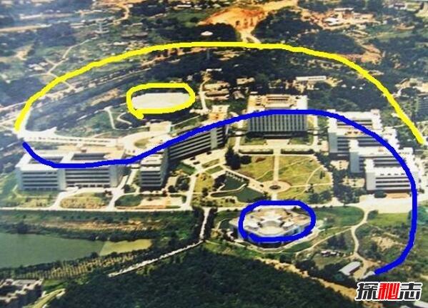 深圳大学高空俯视图_深圳大学为什么是邪地,深圳大学俯视图发现八卦阵_探秘志