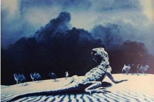 1978年罗布泊食人蜥蜴事件,罗布泊核爆炸死千条巨蜥