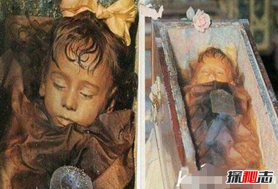 怀孕女尸产下活婴儿特灵娜,冰封600年不死创造奇迹