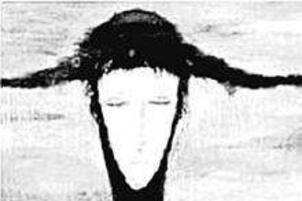 世界上最恐怖的画,雨中女郎让人一夜发疯(诡异慎点)