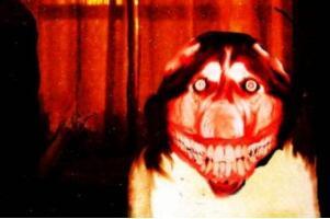 微笑狗为什么吓人,血淋淋的狗头让人毛骨悚然(附图慎点)