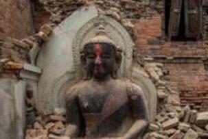 揭秘汶川地震诡异佛像之谜,寺庙都坍塌佛像却屹立不倒