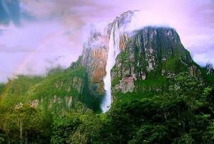 世界上落差最大的瀑布,委内瑞拉天使瀑布(979米)