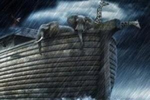 圣经中诺亚方舟之谜,人类大毁灭(诺亚创造世界/真实存在)