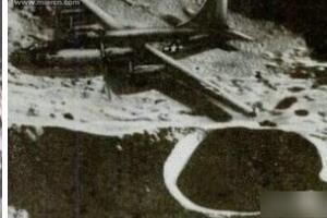 揭秘月球上的轰炸机,百慕大消失二战飞机(被劫持到月球)