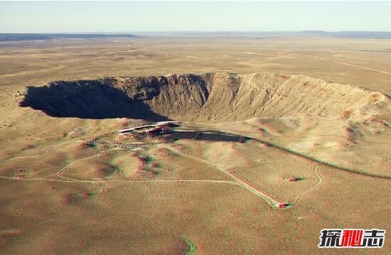 陨石坑挖出2吨钻石_揭秘美国恶魔之坑的来历,疑为3万年前陨石坠落的巨坑_探秘志