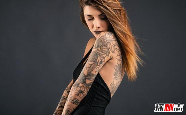 世界上纹身最多的国家:48%的人身上至少有一个纹身