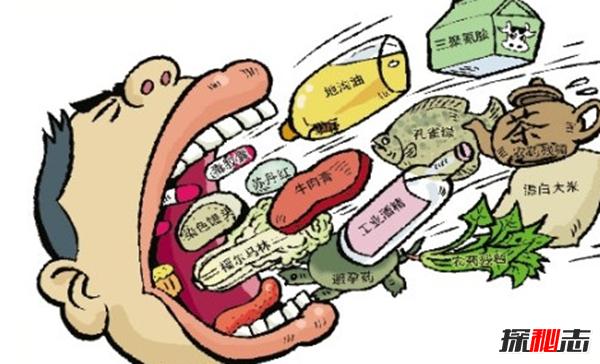 对人类有毒的10大食物 说不定你天天都在吃