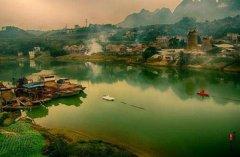 右江的源头在哪里 源自广西壮族自治区的澄碧河口