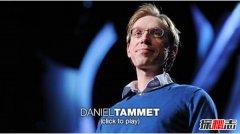 世界10大奇人异事:丹尼尔·塔米特被称白痴天才(异能综合症)