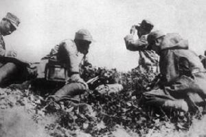 平型关大捷主要将领:115师师长林彪、副师长聂荣臻