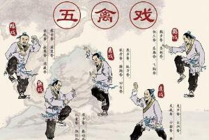五禽戏的由来故事 五禽戏的作用与功效(强身健体长寿)
