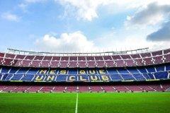 欧洲最大的足球场:诺坎普体育场,长105米(容纳11万人)