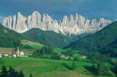 阿尔卑斯山在哪个国家?不属于任何国家,欧洲最高山脉