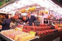 欧洲最大的菜市场:波盖利亚市场,吃货天堂(特色涂鸦)