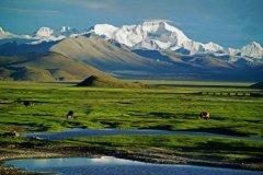 世界上最高的高原:青藏高原,海拔最高5千米(世界屋脊)