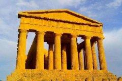 古希腊三大柱式:陶立克宏伟,爱奥尼克精巧,柯林斯华丽