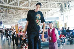亚洲第一高人,张俊才身高2.42米(结婚18年不要孩子)