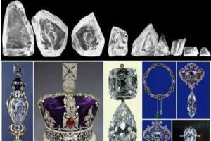 世界上最大的宝石金刚石,非洲之星库利南(3106.75克拉)