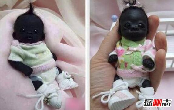 世界上最黑的孩子不像人图片