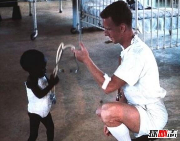 世界最黑的孩子图片图片