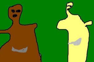 熊出没灵异事件图片 熊大的头变细手变长十分诡异(脑洞大开)