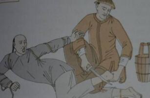 古代酷刑之刖刑,砍掉犯人双脚防止逃跑(孙膑受过此刑)