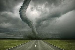 美国龙卷风走廊视频,平均每年刮1000次龙卷风(荒无人烟)