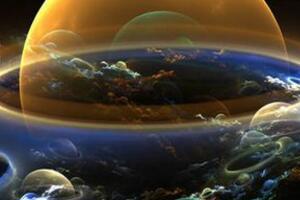 宇宙中神秘泡沫之谜,星空中惊现气泡(拉叶星的风力所致)