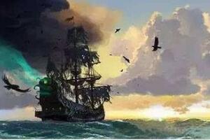 世界十大幽灵船之珍妮号帆船 诡异尸体控制船17年(海浪推动)