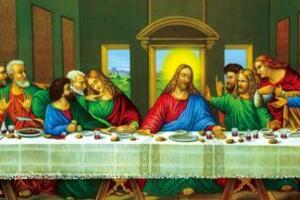 达芬奇最恐怖的画,最后的晚餐藏神秘预言/耶稣被犹大出卖