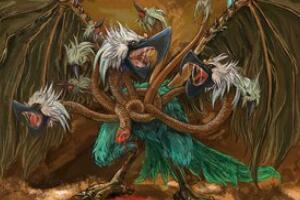 天上九头鸟之谜,揭秘湖北人九头鸟的来历(源于山海经)