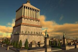 土耳其国王摩索拉斯陵墓,媲美于古埃及金字塔(遗址图片)