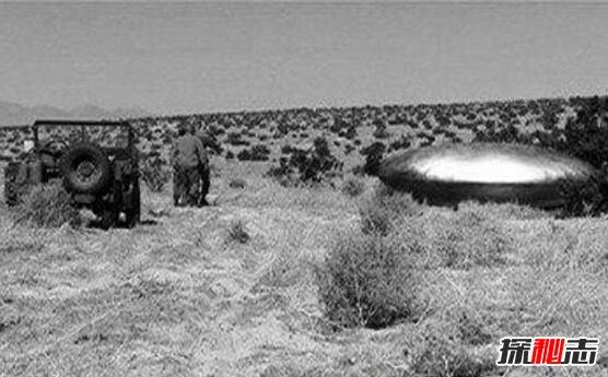 美国外星人飞碟坠落事件图片