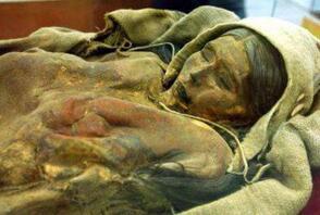 古楼兰女尸小河公主,沉睡3800多年的楼兰公主(复原图)
