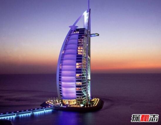 十大迪拜着名建筑,风中烛火大厦最疯狂(大楼在跳舞)