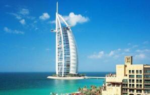 世界最豪华迪拜帆船酒店,七星级阿拉伯塔酒店满地黄金